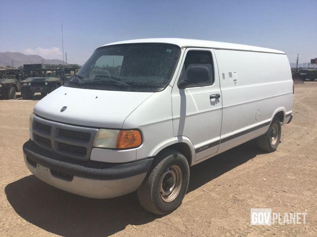 2001 Dodge Ram B1500 Cargo Van