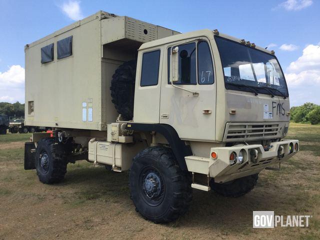 Surplus 1998 Stewart & Stevenson M1079 LMTV 4x4 Van Truck in