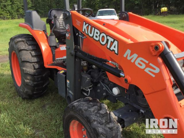2016 Kubota M62 4WD Tractor in Pooler, Georgia, United
