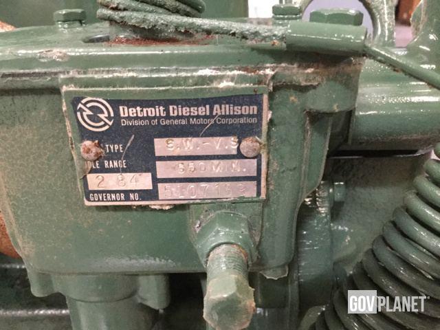 Surplus Detroit Diesel 353 Engine in North Las Vegas, Nevada