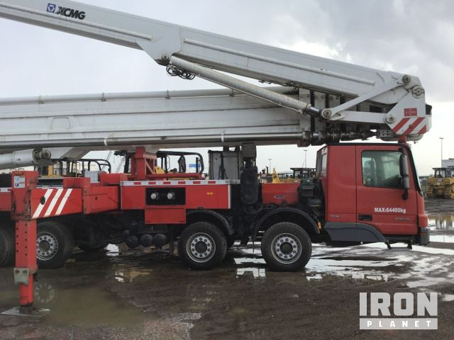 XCMG DG100 Platform Fire Truck in Jebel Ali Free Zone, Dubai