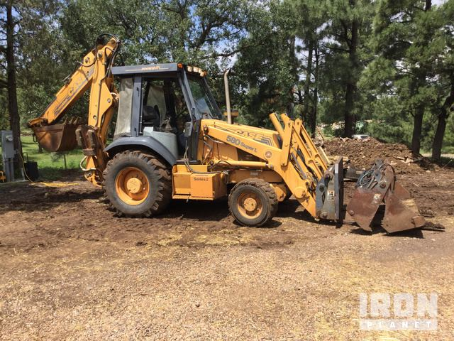 Case 580 Super L Series 2 4x4 Backhoe Loader in Lakeside