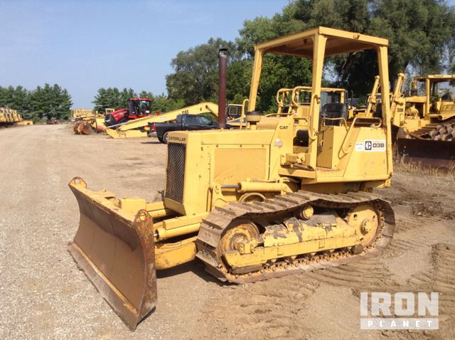 Cat D3B Crawler Dozer in Bluffs, Illinois, United States