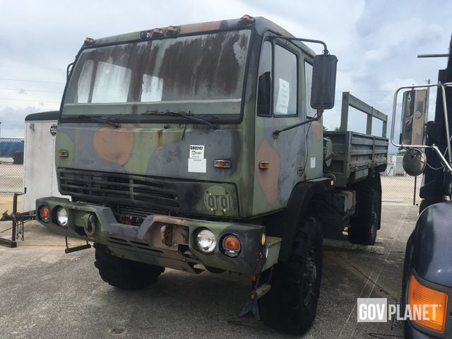 Surplus Stewart & Stevenson M1078 LMTV 4x4 Cargo Truck in Canaveral on