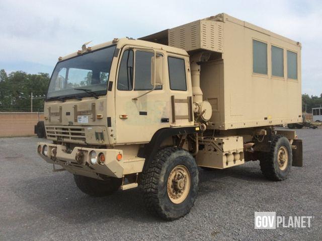 Surplus 1995 Stewart & Stevenson M1079 LMTV 4x4 Van Truck in
