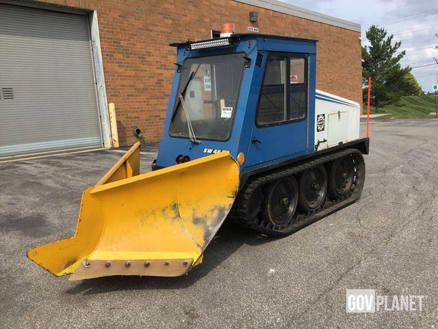 Surplus Bombardier SW48FA Sidewalk Plow in Solon, Ohio, United