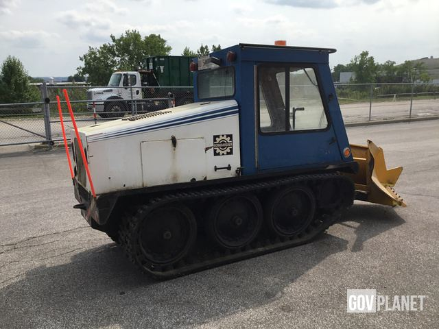 Surplus Bombardier SW48FA Sidewalk Plow in Solon, Ohio