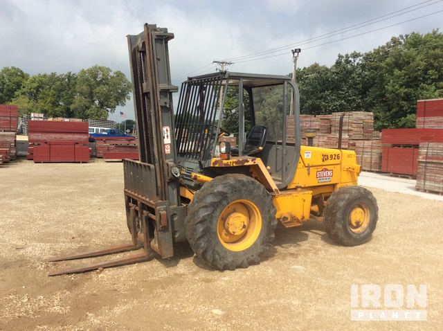 jcb 926 rough terrain forklift in cottage grove, wisconsin, united states  (ironplanet item #1650103)