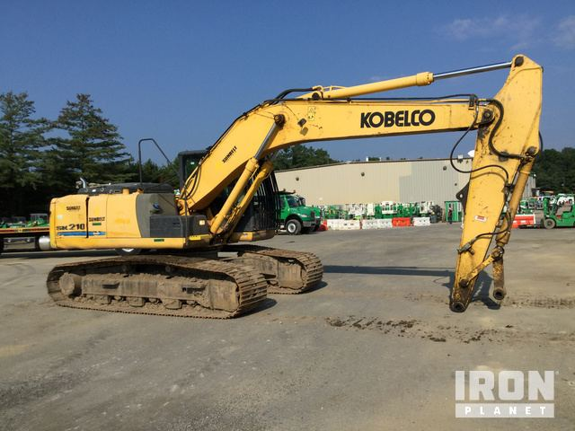 2013 Kobelco SK210-9 Track Excavator in Laurel, Maryland, United