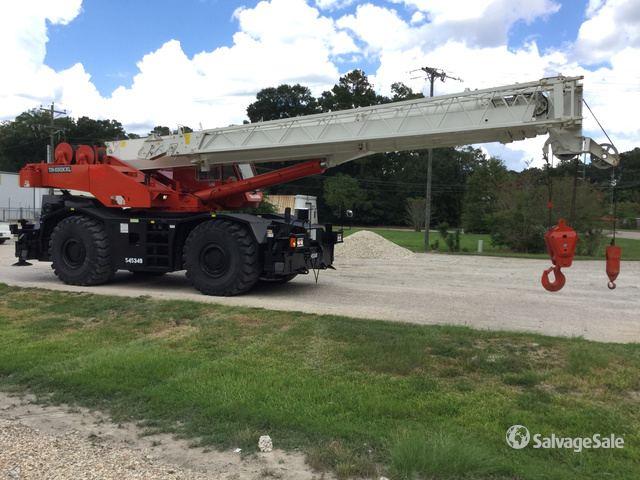 2000 Tadano TR-650XXL Rough Terrain Crane in Houma, Louisiana