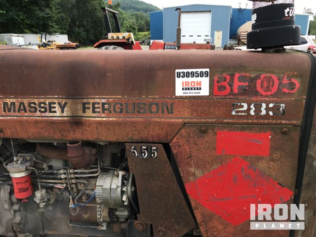 Massey Ferguson 283 Broom Tractor in Franklin, Pennsylvania, United ...