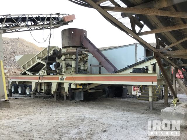 2008 (unverified) Metso/Nordberg HP4 Cone Crusher in Oro