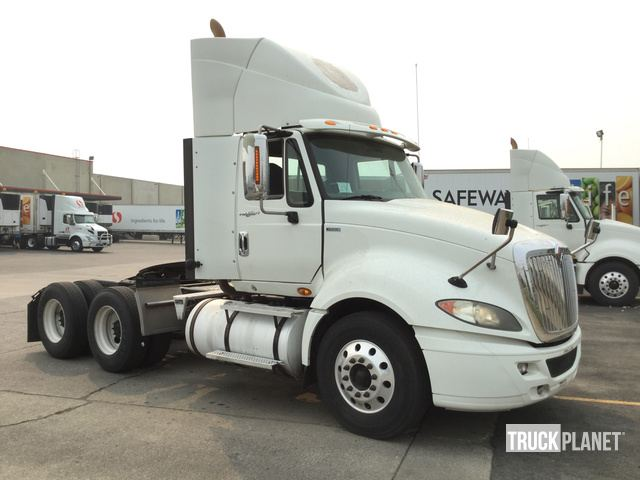 2012 International ProStar + 122 T/A Day Cab Truck Tractor in