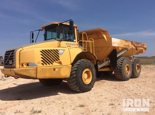 2004 volvo a35d articulated dump truck in lubbock texas united rh ironplanet com Volvo A35D Gimbal Joint Grease Volvo A35 Specs