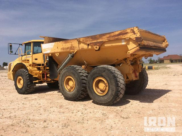 2004 volvo a35d articulated dump truck in lubbock texas united rh ironplanet com Volvo A35 Articulated Truck Breakdown Volvo A35D Operators Seat