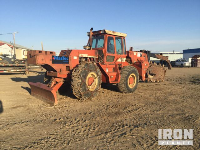 Ditch Witch RT185 Trencher in Brooks, Alberta, Canada ... on
