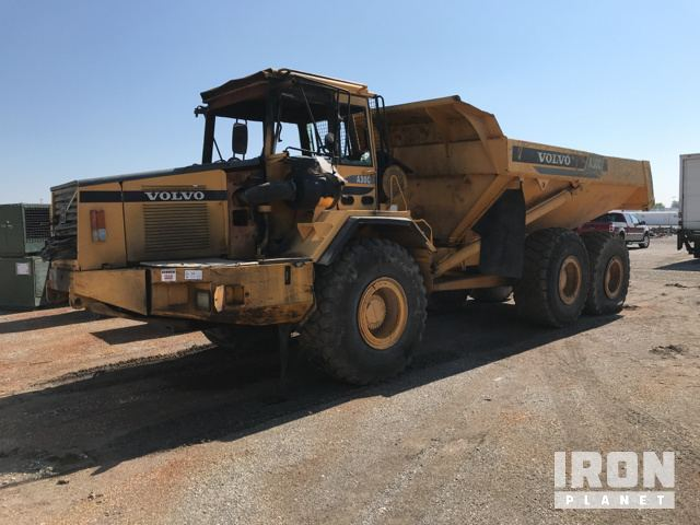 End Dump Truck >> Volvo A30c Off Road End Dump Truck In South Vienna Ohio