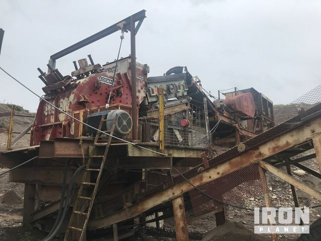 Hazemag APS1013KH Portable Impact Crusher Plant in Oxford