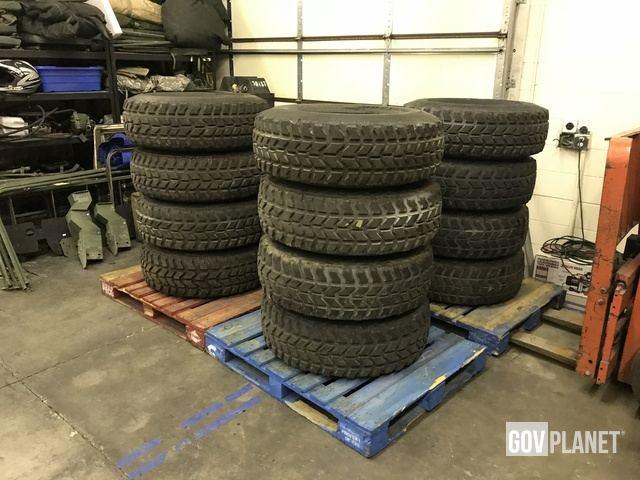 Set of 4 Humvee HMMWV Tires in Spanish Fork, Utah, United