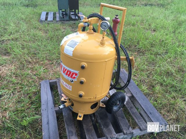 surplus sage oil vac 30080 fluid recovery system in lake butler