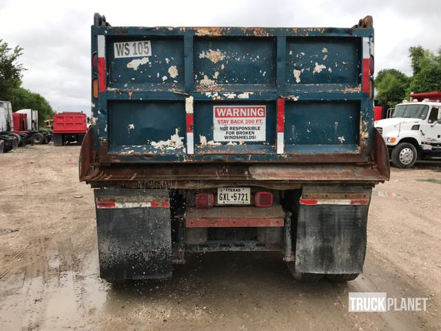 1991 International 9400 T/A Dump Truck in Houston, Texas, United