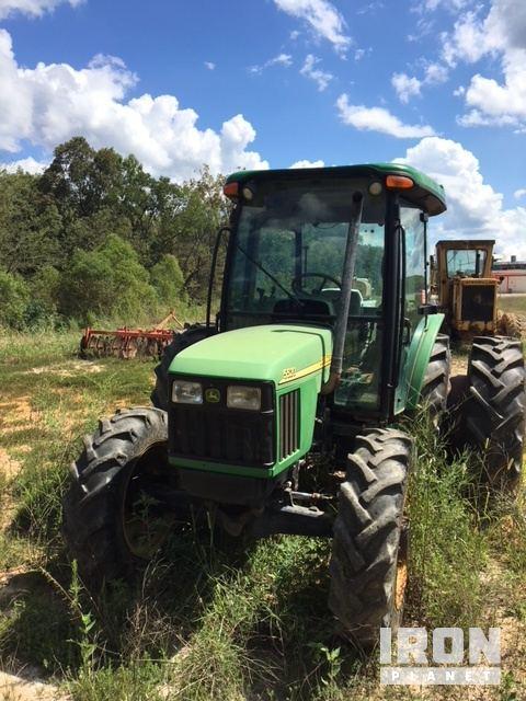John Deere 5500 4WD Tractor w/ John Deere HW15 Brush Cutter