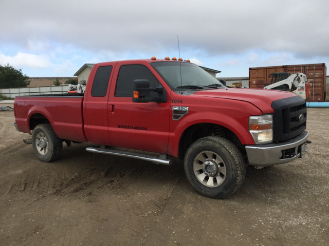 2010 Ford F 350 Lariat Super Duty 4x4 Extended Cab Pickup