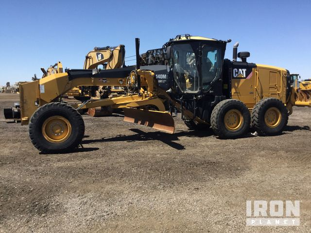 2013 Cat 140M2 VHP Plus Motor Grader