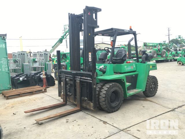 2012 Mitsubishi Fd70e Rough Terrain Forklift In Baltimore Maryland
