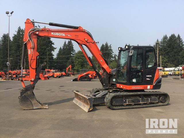 2017 Kubota KX080-4S Mini Excavator in Hubbard, Oregon