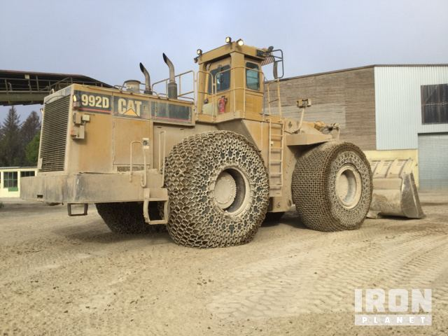 1995 cat 992d wheel loader in muenchehof saxony germany rh eu ironplanet com