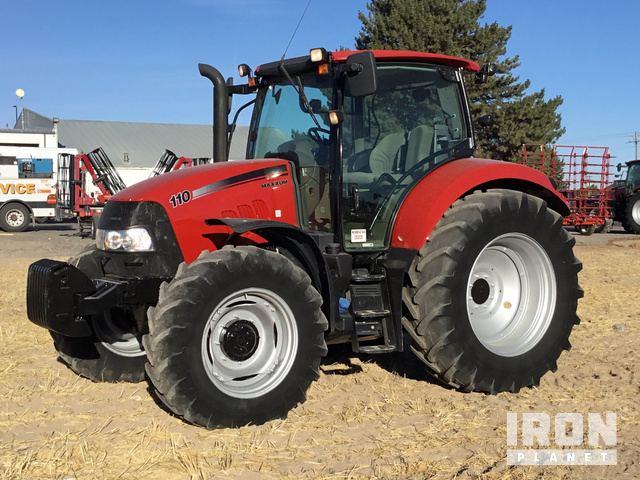 2015 Case IH Maxxum 110 4WD Tractor in Twin Falls, Idaho, United