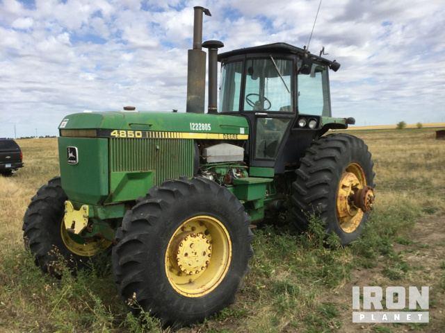 John Deere 4850 4WD Tractor in Williston, North Dakota, United
