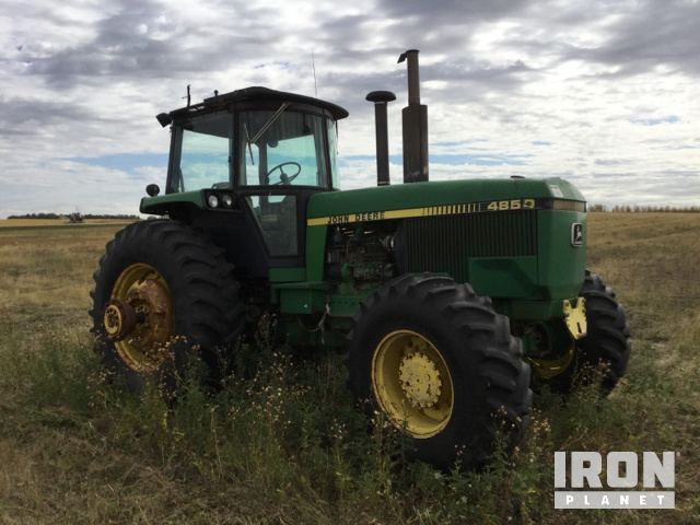 John Deere 4850 4WD Tractor in Williston, North Dakota, United