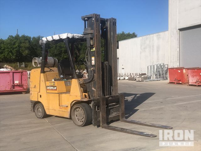 Cat GC45K-SWB Cushion Tire Forklift in Urbandale, Iowa