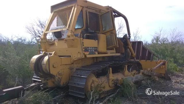 Cat D7G Crawler Dozer in Tilden, Texas, United States (SalvageSale