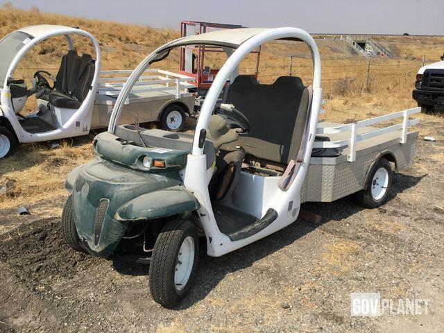 Surplus 2002 Gem E825 Utility Vehicle In Tracy California United States Govplanet Item 1708502