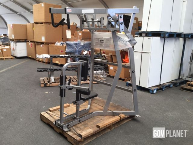 Surplus Hammer Strength ISO Lateral High Row Machine in