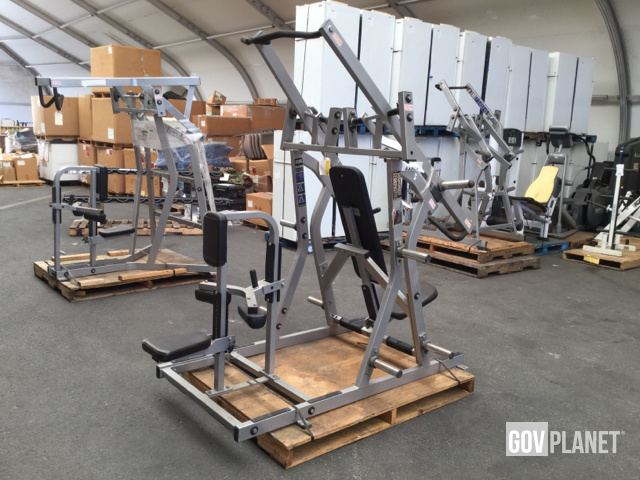 Surplus Hammer Strength ISO-Lateral Chest/Back Combo Machine
