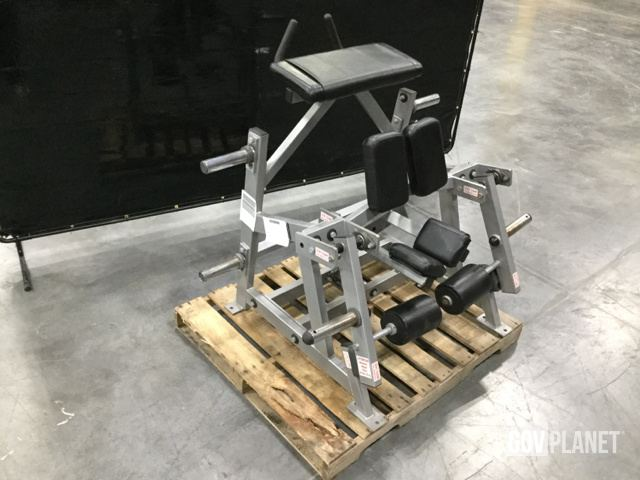 Surplus Hammer Strength ISO-Lateral Kneeling Leg Curl