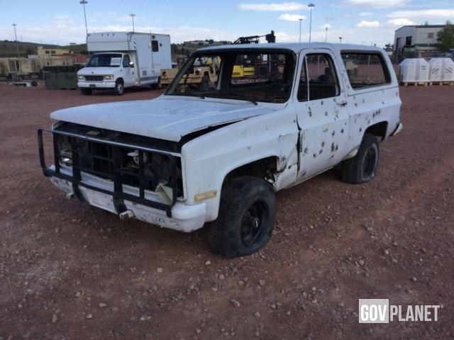9c46c3be3f Surplus 1984 Chevrolet D10 Blazer 4x4 SUV in Fort Carson