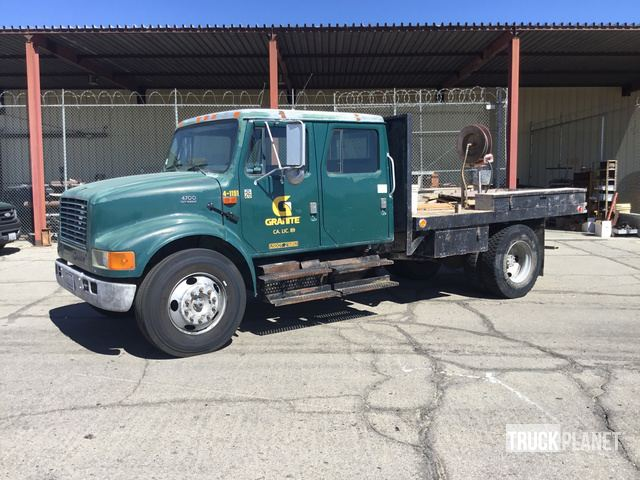2000 International 4700 S A Flatbed Truck In Indio