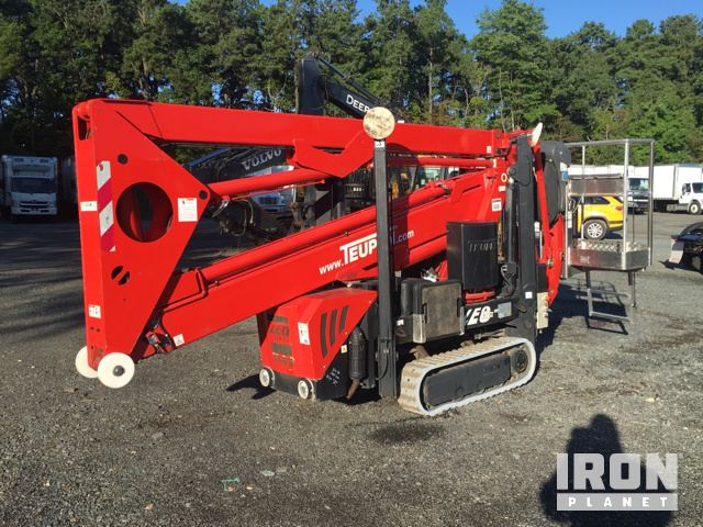 2011 Teupen LEO 18 GT Crawler Articulating Boom Lift in North East