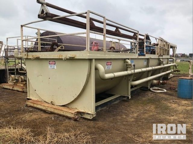 Mud Tank, Skid Mounted, w/Mud Hopper, w/Qty 2 Electric