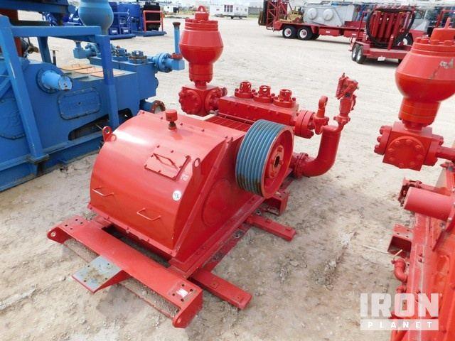 ELLIS WILLIAMS 447 Triplex Pump, S/N-003, w/Forg… in Odessa