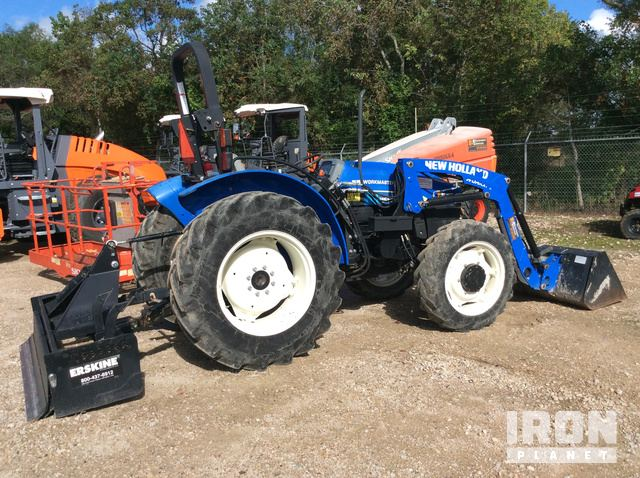 2014 (unverified) New Holland Workmaster 55 4WD Tractor in ... on