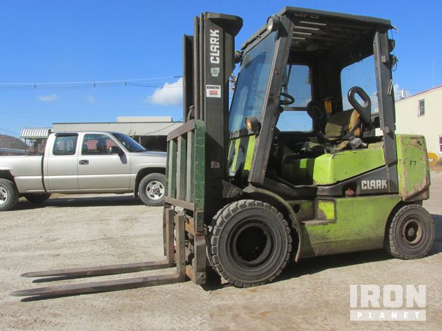 Clark CGP25 Pneumatic Tire Forklift In Poland Spring Maine