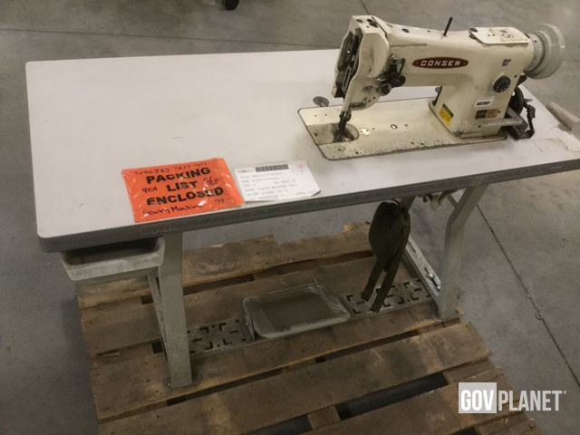 Surplus Consew Industrial Sewing Machine In North Las Vegas Nevada Magnificent Sewing Machines Las Vegas
