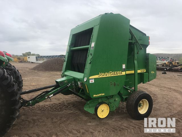 John Deere 567 Round Baler in Silt, Colorado, United States