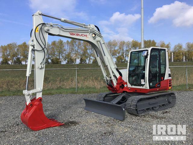 2018 Takeuchi TB285 Track Excavator - New in Zevenbergen